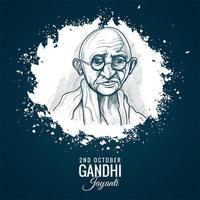 2. Oktober Mahatma Gandhi Jayanti für Poster Hintergrund
