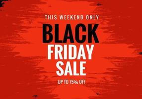 schwarzer Freitag Verkauf für Poster Banner Layout Hintergrund