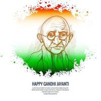 glücklicher Gandhi Jayanti Nationalfeiertagsfeierhintergrund