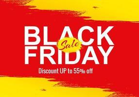 Schwarzer Freitag-Verkauf für Geschäftsfahnenhintergrund