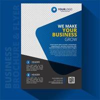 Geschäftsbroschüre a4 Flyer Design