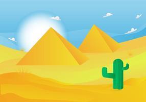 Gratis Piramid Vector Illustration