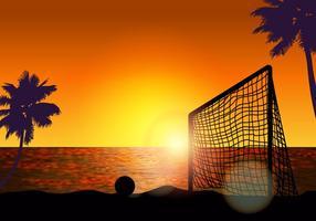 Ziel für Strand Fußball