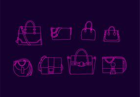 Gratis Versace Bag Vector Illustration