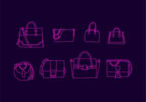 Kostenlose Versace Tasche Vektor-Illustration