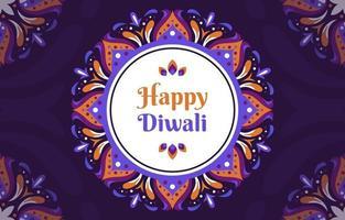 blommor inspirerade rangoli för diwali