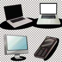 Satz elektronischer Geräte