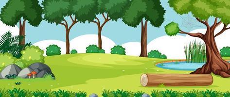 Naturpark Landschaft Hintergrund vektor