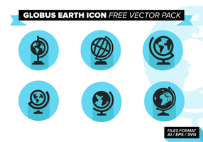 Globus Earth Icon Gratis Vector Pack