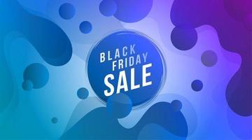 schwarzer Freitag Verkauf Banner Design
