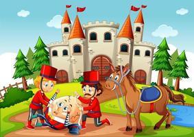 Märchenszene fiktive Figuren