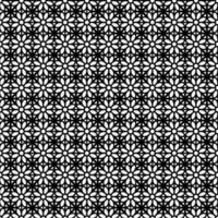 Blumen geometrische nahtlose Muster Design Hintergrund vektor