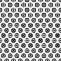 nahtloser Musterhintergrund des Mandalas vektor