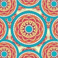 mandala mönster design vektor