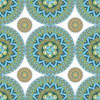 mandala mönster bakgrund vektor
