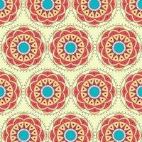 Mandala Muster Hintergrund vektor