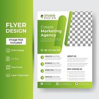 broschyr med flygbladshäfte