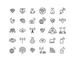 Symbolsatz für die Gliederung des drahtlosen Netzwerks