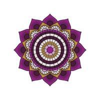 lila Mandala Vektor