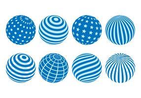 Gratis Globes Vector