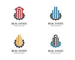 Satz von Immobilien