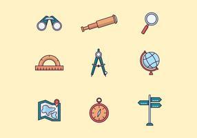 Gratis navigering ikoner vektor