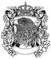 Tattoo Kunst Adler Symbol Zeichnung