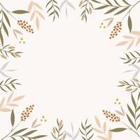 moderm Blumenhintergrund vektor