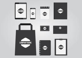 Geschäfts-Briefpapier-Schablone