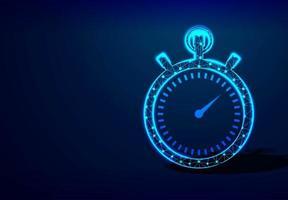 Uhr oder Stoppuhr Design vektor