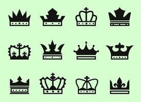 Gratis Crown Ikoner Vector
