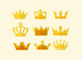Gratis Flat British Crown Vector