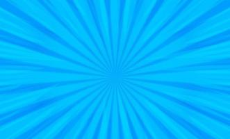 serietidning popkonst radiella ränder på blått vektor