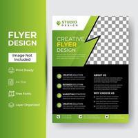 Unternehmens- und Geschäftsflyer-Vorlage vektor