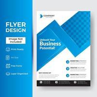 Unternehmens- und Geschäftsflyer-Vorlage