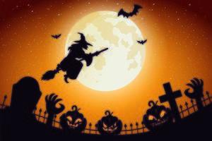 Halloween beängstigender Hintergrund