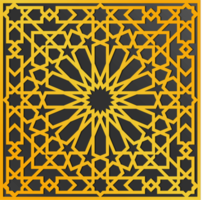 traditionell utsmyckad arabisk design