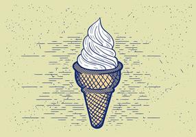 Free Vector Detaillierte Icecream Illustration