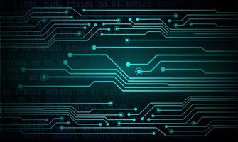 blauer Licht abstrakter Technologiehintergrund