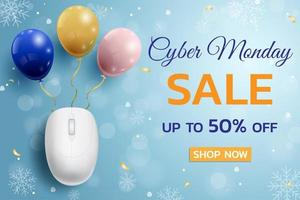 Cyber Montag Verkauf Konzept Design