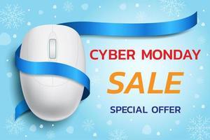 Cyber Montag Verkauf Design vektor