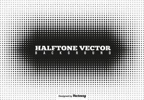 Vektor-Halbton-Vorlage vektor