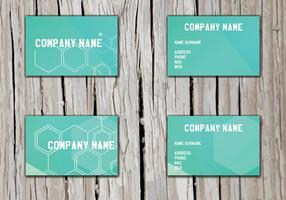 Namenskarten-Vektor