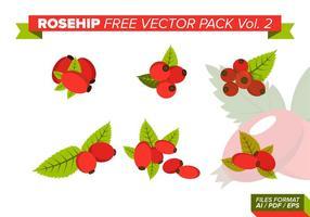 Hagebutten frei Vektor Pack Vol. 2