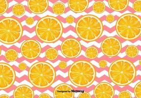Orange Scheiben Vektor Hintergrund