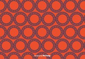 Griechisch Kreis Ornament Muster