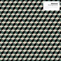 vintage färg isometrisk kuber mönster