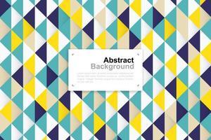 abstraktes buntes geometrisches Muster vektor