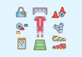 Freier Fußball-Vektor vektor