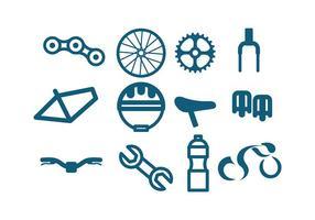 Bicicleta ikonvektor